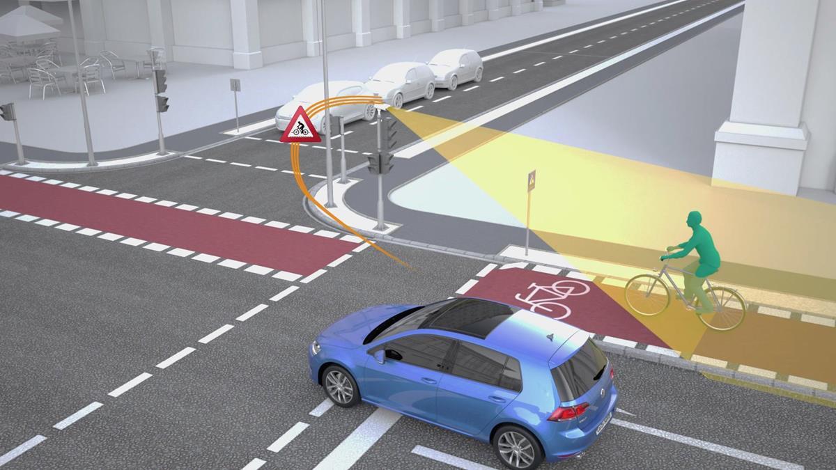 Volkswagen e Siemens rendono più sicuri gli incroci stradali - image VW-1 on https://motori.net