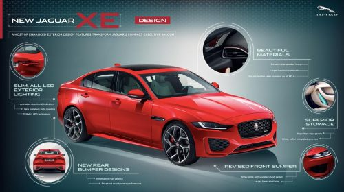 Nuova Jaguar XE: berlina compatta, guida sportiva - image JagXE-20-MY_Design-infographic-500x280 on https://motori.net