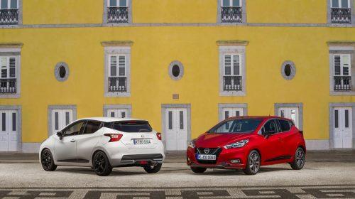 Nissan amplia la gamma Micra con la versione GPL - image more-micra-live-event-red-micra-xtronic-and-white-micra-n-sport-static-pack-shot-3-500x280 on https://motori.net