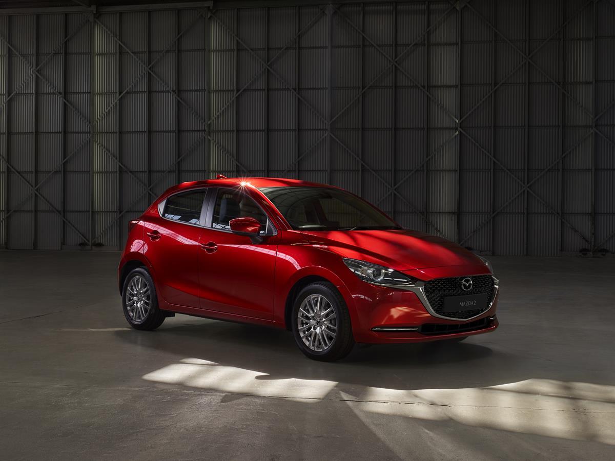Mazda2, la piccola ammiraglia diventa ibrida - image Mazda-2 on https://motori.net