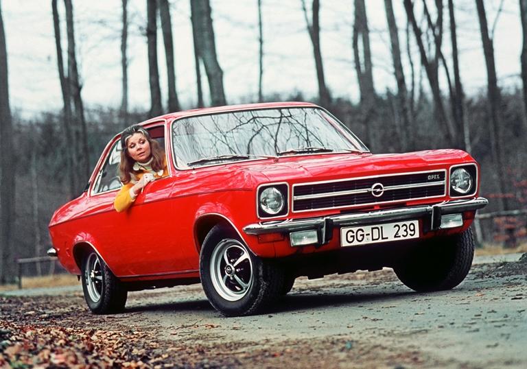 50 anni di Opel Ascona - image 1972-Opel-Ascona-A on https://motori.net