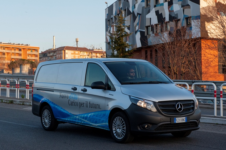 50 anni di Opel Ascona - image Mercedes-eVito on https://motori.net