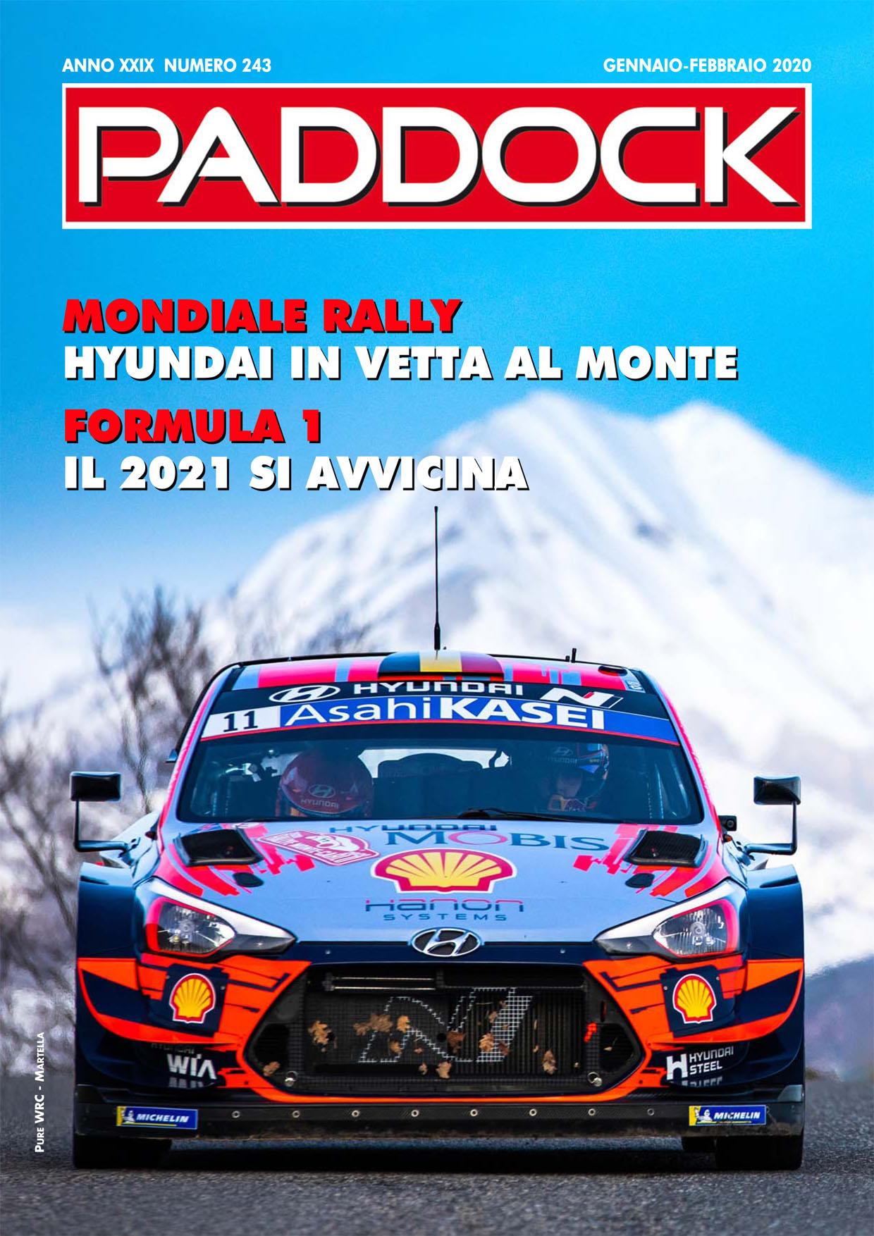 Paddock - Febbraio-Marzo - image Paddock_243_cover_low_A4 on https://motori.net