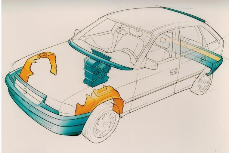 Audi Quattro: 40 anni di sicurezza, prestazioni ed efficienza - image plastica-riciclata on https://motori.net