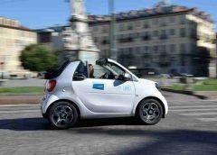 Nuovo e-Bulli: icona fra le auto d'epoca, propulsione elettrica - image SHARE-NOW-240x172 on https://motori.net