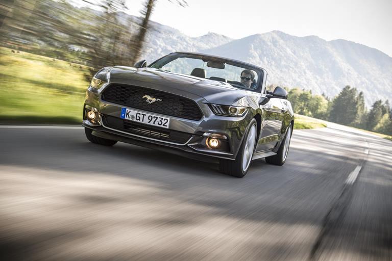 Una leggenda chiamata Mustang - image Ford-Mustang_Convertible on https://motori.net