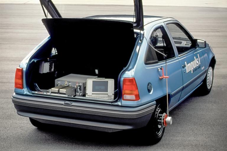 La prima Avant plug-in della storia dei Quattro Anelli - image 1990-Opel-Kadett-Impuls-I on https://motori.net