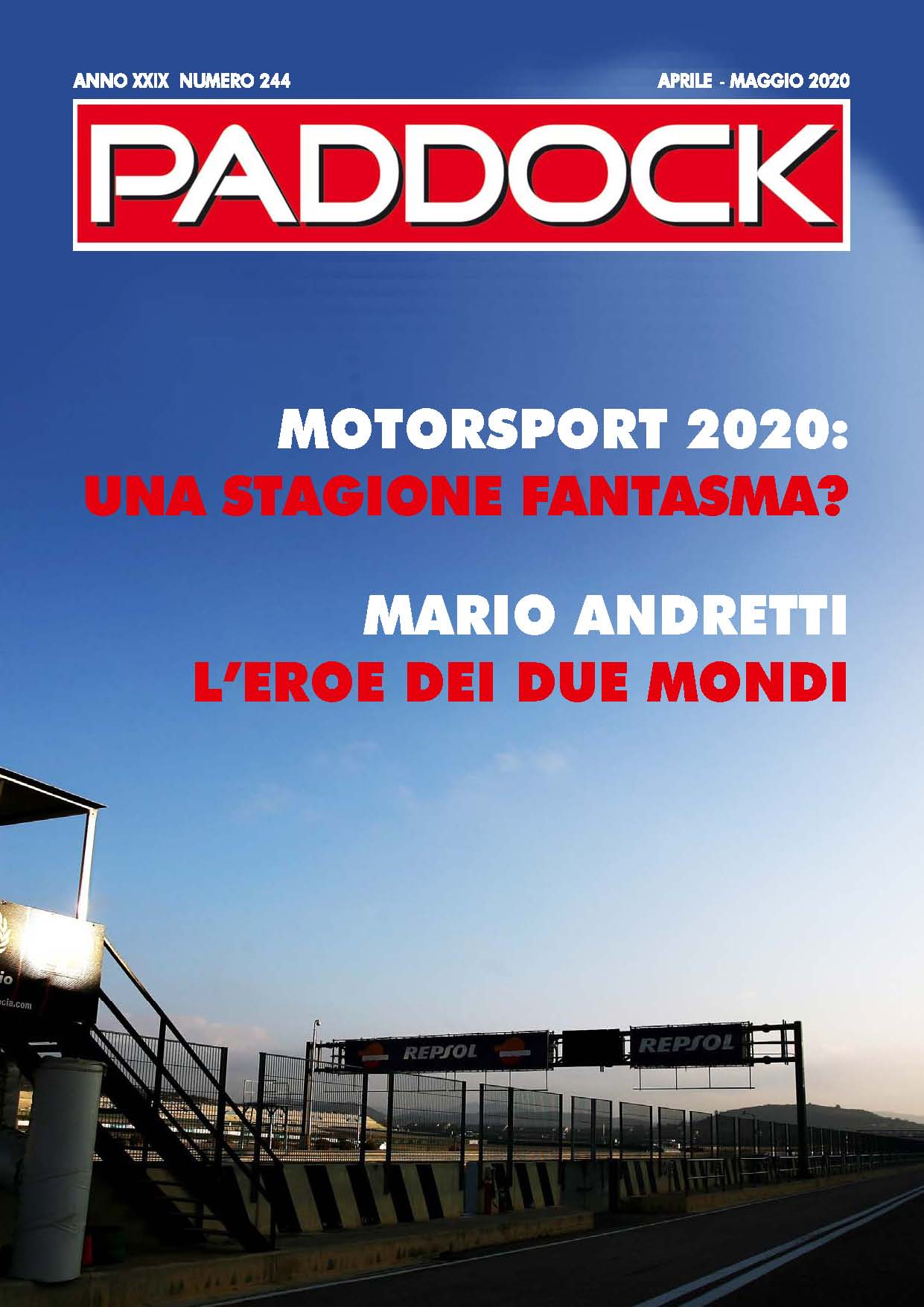 Paddock - Febbraio-Marzo - image Cover_Paddock_244_low on https://motori.net
