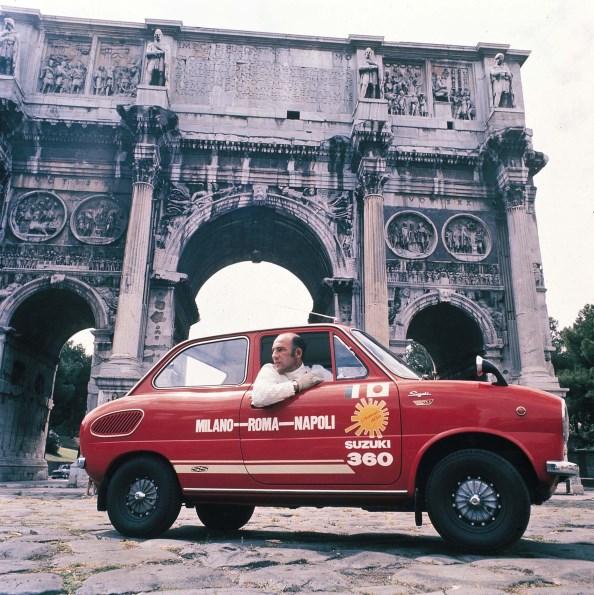 Cinquanta anni fa da Milano a Napoli con la piccola Suzuki - image Suzuki-early-years-03 on https://motori.net