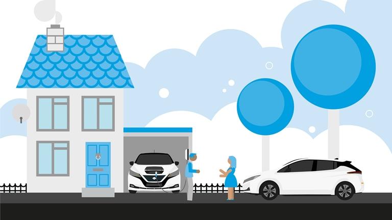 Guida Nissan per l'automobilista elettrico - image Nissan-Manuale-elettrico on https://motori.net