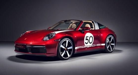 Omaggio alla tradizione: Porsche 911 Targa 4S Heritage Design Edition - image Targa-Heritage on https://motori.net