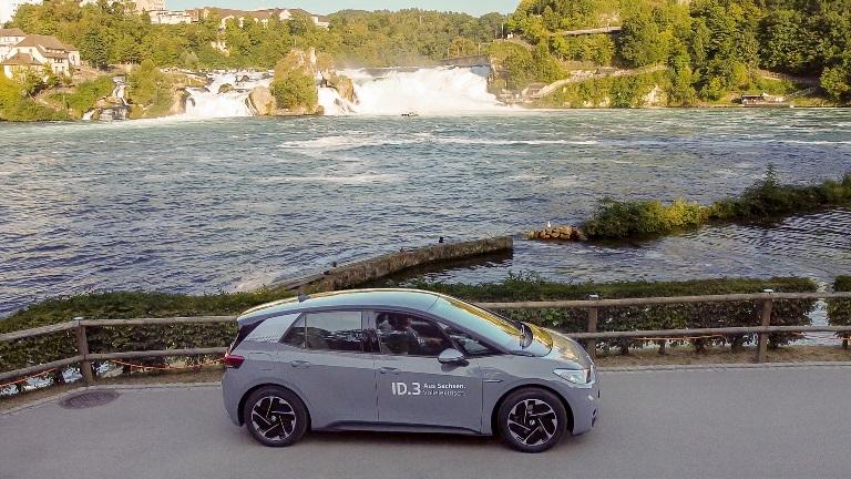 Record di autonomia: una VW ID.3 da Zwickau alla Svizzera con una sola carica - image ID3-record on https://motori.net