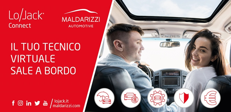 """Il """"tecnico virtuale"""" sale a bordo dell'auto - image LoJack_Maldarizzi on https://motori.net"""