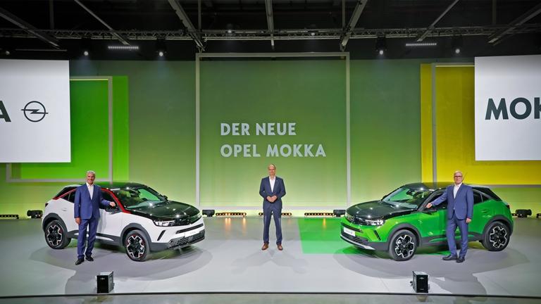Il primo e-SUV di Volkswagen - image Opel-Mokka-Vorstellung-Adams-Lohscheller-Lott-1 on https://motori.net