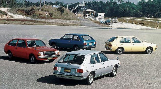 Mazda colori - image Mazda_Familia_AP_1977-1-660x365 on https://motori.net