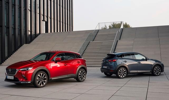 Mazda continua nell'impegno verso la neutralità al carbonio e la sicurezza di chi guida - image 2021-Mazda-CX-3 on https://motori.net