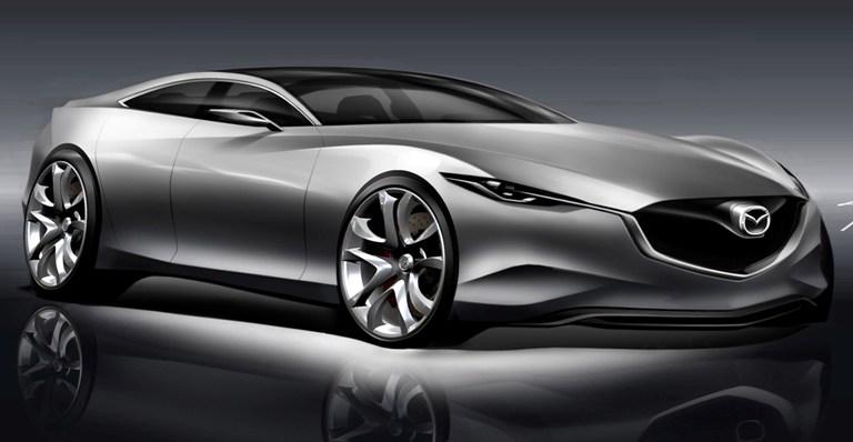Mazda continua nell'impegno verso la neutralità al carbonio e la sicurezza di chi guida - image Shinari_Exterior_Sketch_7 on https://motori.net