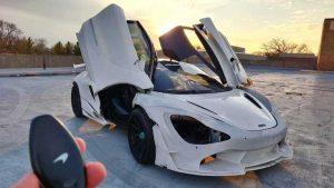 Una McLaren stampata in 3D
