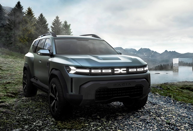 Ora Bentayga è anche Hybrid - image 2021-Dacia-Bigster-Concept on https://motori.net