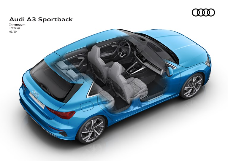 Euro NCAP: 5 stelle per Audi, Lynk, Nio, Subaru eToyota - image Audi-A3-Sportback_air-bag_02 on https://motori.net