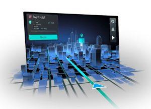 Continental presenta il navigatore 3D