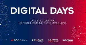 FCA Bank e Leasys lanciano di Digital Days