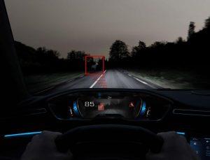 Night Vision per i SUV di Peugeot