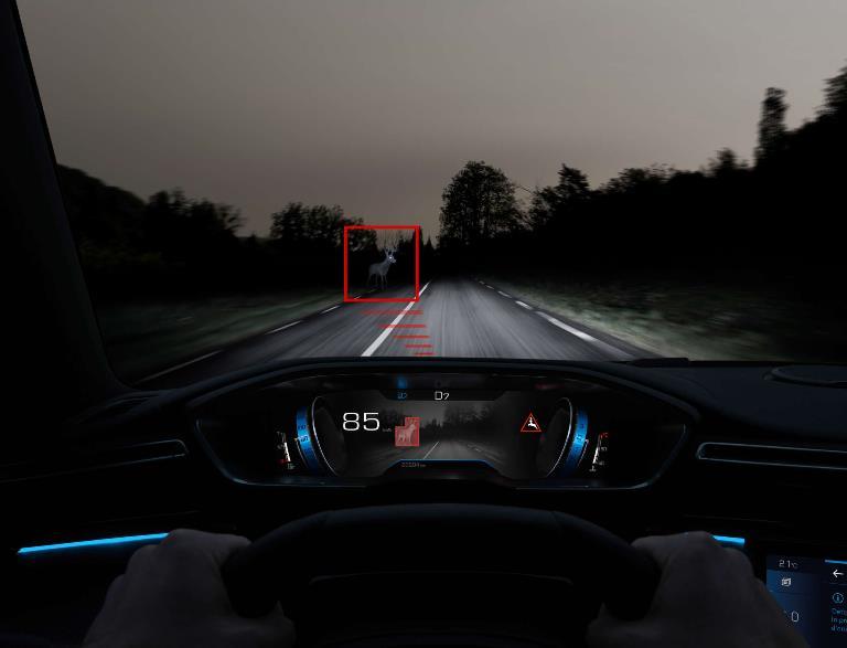 Night Vision per i SUV di Peugeot - image Il-NIGHT-VISION-di-PEUGEOT-2 on https://motori.net