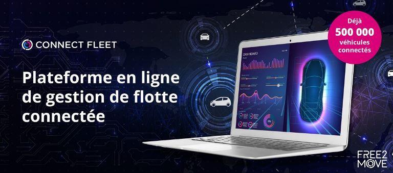 Free2Move supera il traguardo delle 500.000 auto connesse - image connect-fleet-v on https://motori.net