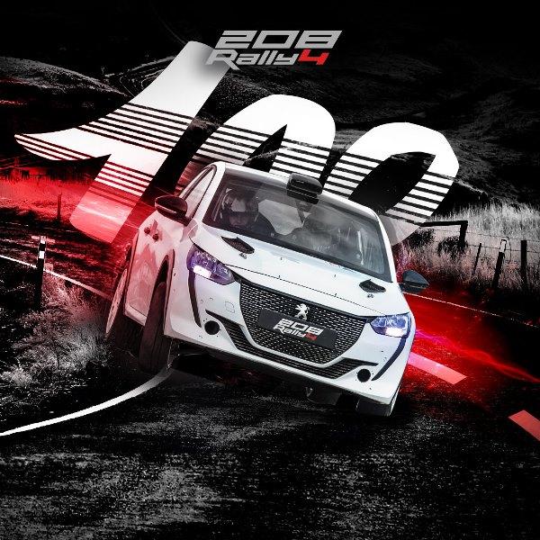 Davide Nicelli campione 2021 del Clio Trophy Italia - image 100esima-PEUGEOT-208-RALLY4 on https://motori.net