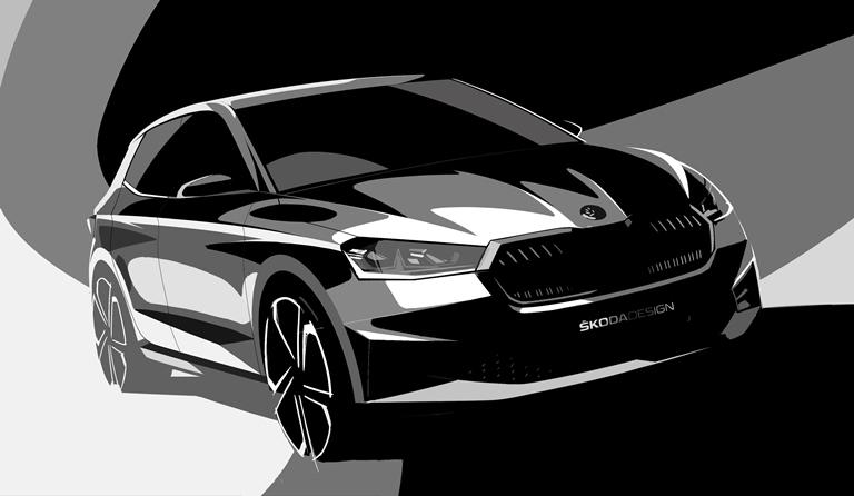Il primo sport compact SUV dal cuore elettrico - image SKODA_FABIA on https://motori.net
