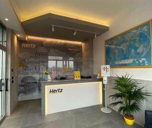 """Hertz rinnova la """"location"""" alla Stazione Tiburtina"""