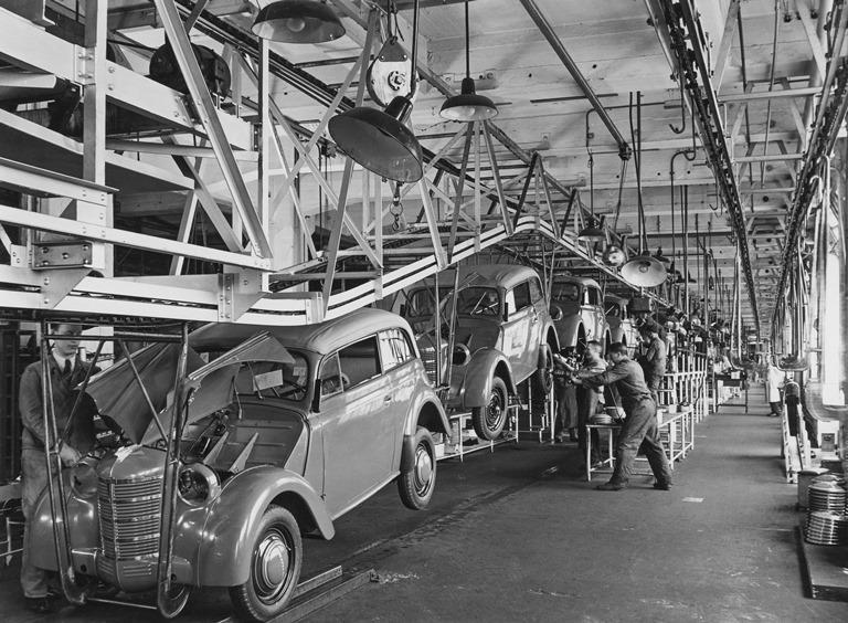 L'originale si rinnova - image Opel-Kadett-1938-Montage-36199 on https://motori.net