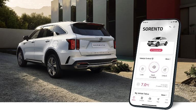 Filtri abitacolo Bosch per veicoli elettrici - image Kia-UVO-Connect on https://motori.net