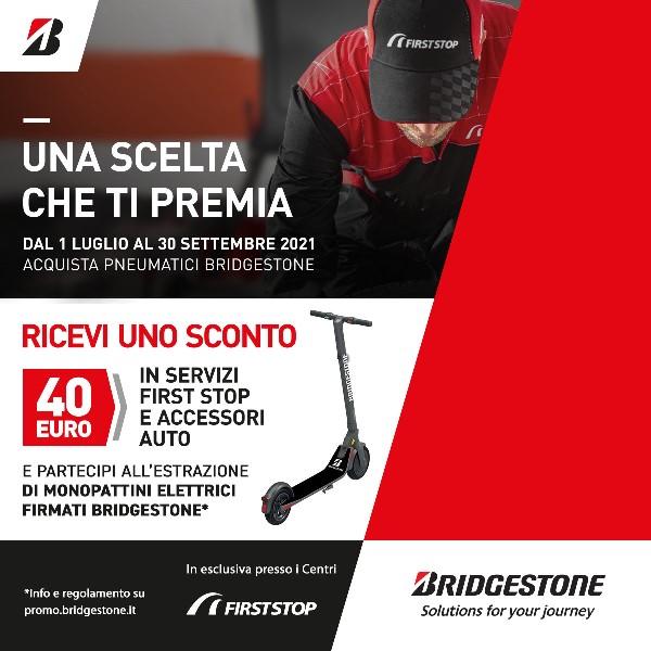 Una scelta che ti premia - image Bridgestone_promo-FIrst-Stop on https://motori.net