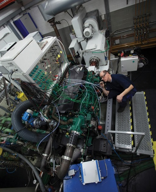120 anni di automobili Opel - image Tenneco-Powetrain_Burscheid_engine-testing on https://motori.net