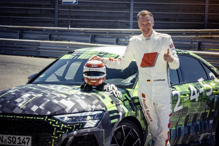 Euro NCAP: 5 stelle per Audi, Lynk, Nio, Subaru eToyota - image media-Audi-RS-3-record-Ring on https://motori.net