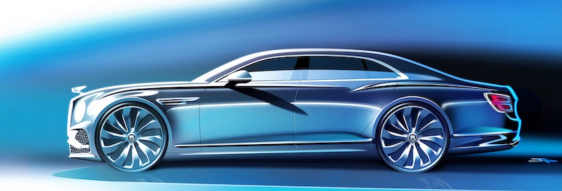 "Fiat 500 è ""Auto Europa 2022"" - image 70_years_of_bentley_design on https://motori.net"