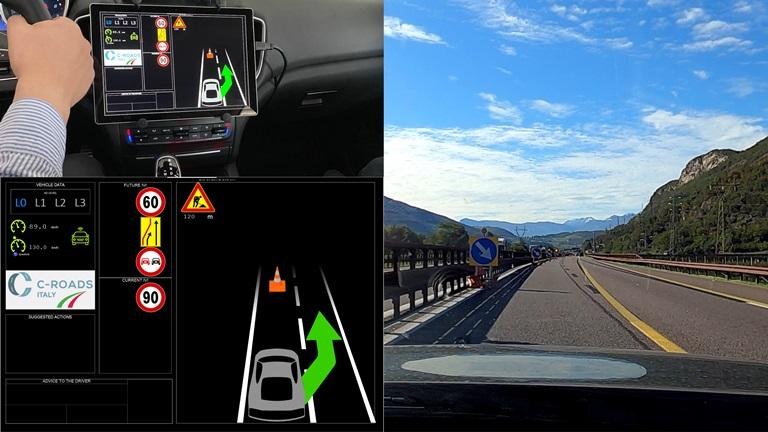 Il progetto C-Roads Italy - image CROADS on https://motori.net