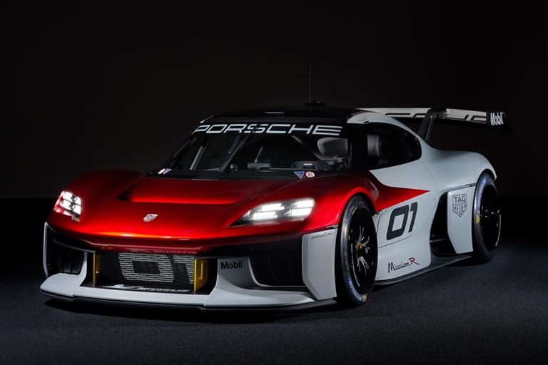 Mission R per Porsche - image Porscje-Mission-R on https://motori.net