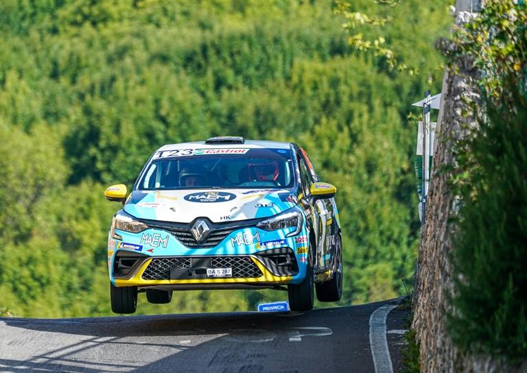 Davide Nicelli campione 2021 del Clio Trophy Italia - image RENAULT-RALLY-1000-MIGLIA on https://motori.net