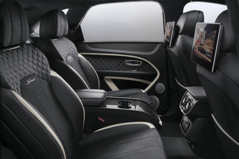Nuovo sistema di intrattenimento Bentley - image bentley_rear_entertainment on https://motori.net