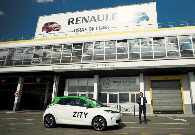 100% elettrica in abbonamento per taxi e noleggio con conducente - image story-Mobilize-Zity on https://motori.net