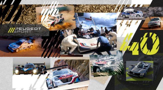 Peugeot Sport: 40 anni di innovazioni e di successi