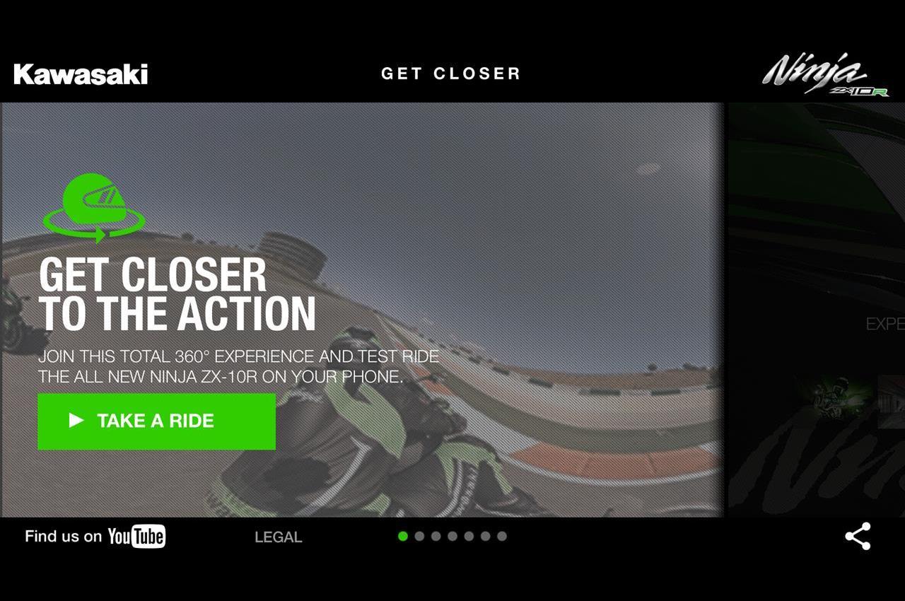 L'App ufficiale Ninja ZX-10R - Get Closer - image 006412-000073653 on https://moto.motori.net