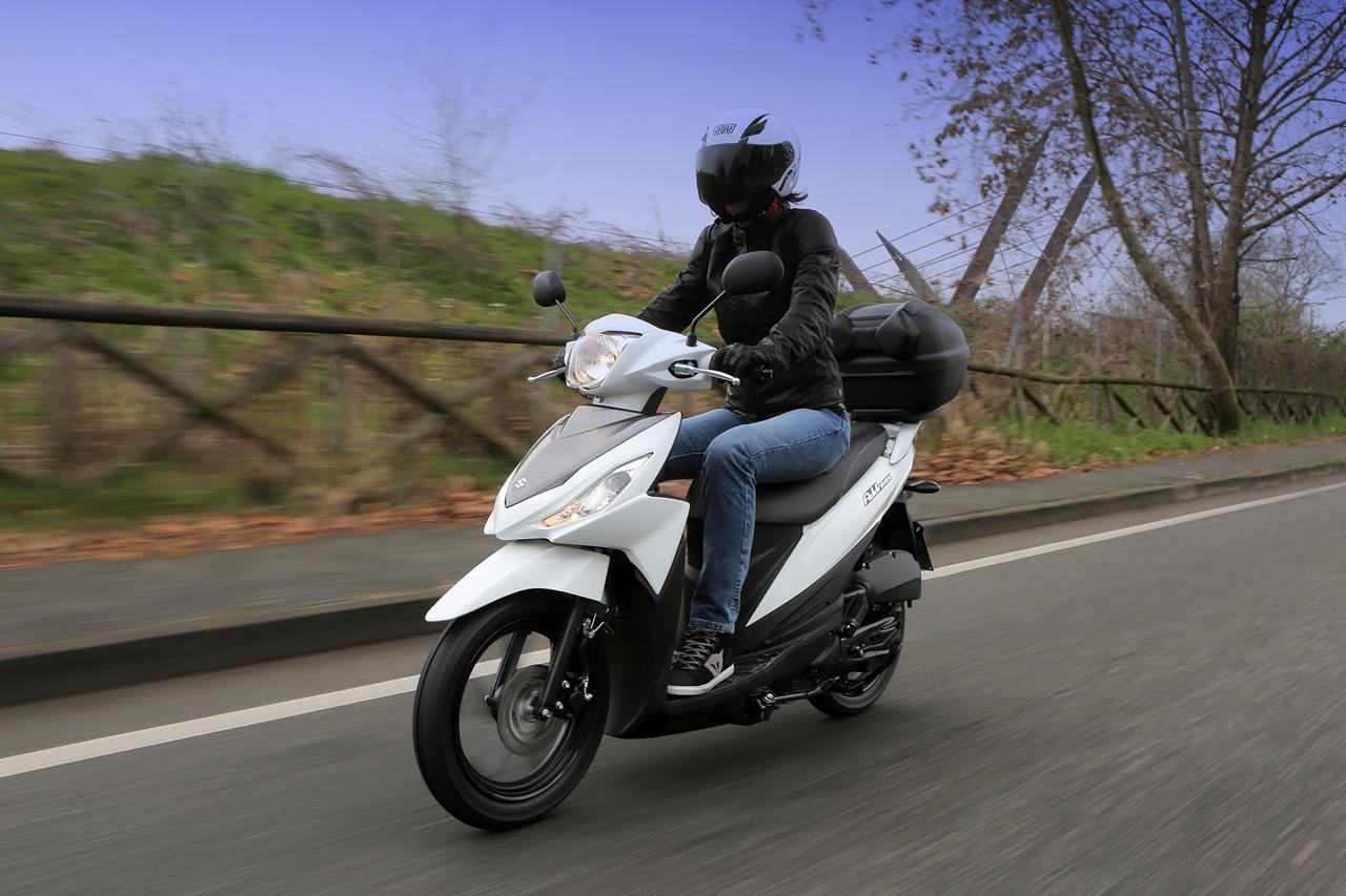 Suzuki ADDRESS pronto al debutto - image 001223-000021484 on https://moto.motori.net
