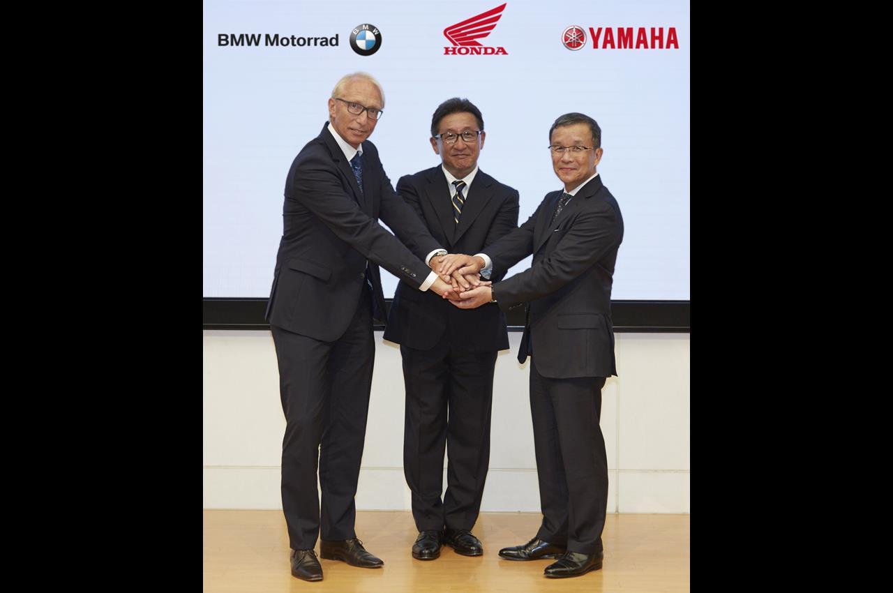 Yamaha, Bmw e Honda insieme per la sicurezza - image 005370-000062764 on https://moto.motori.net