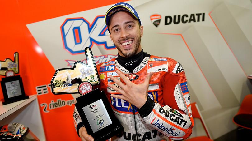 Moto GP, Giappone: il pilota della Ducati porta a casa la quinta vittoria