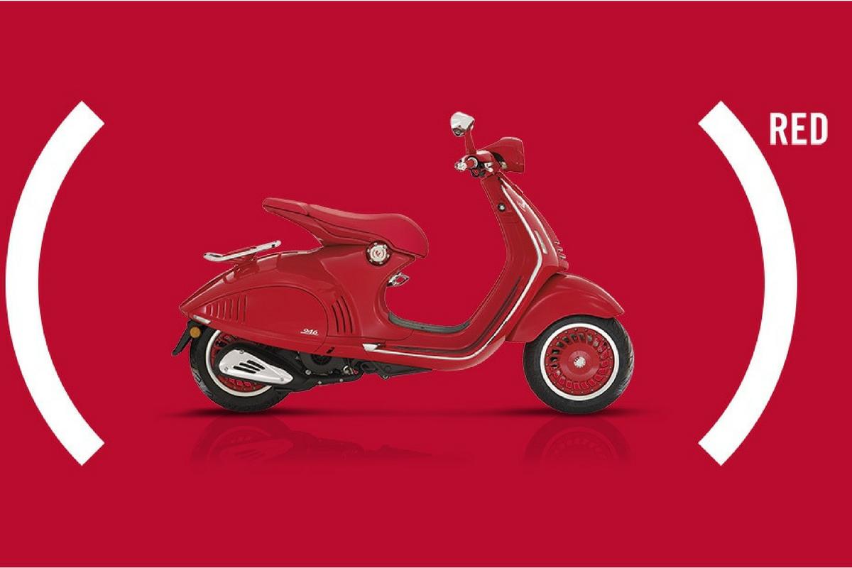 Gruppo Piaggio: lancia in India la nuova Vespa RED VXL