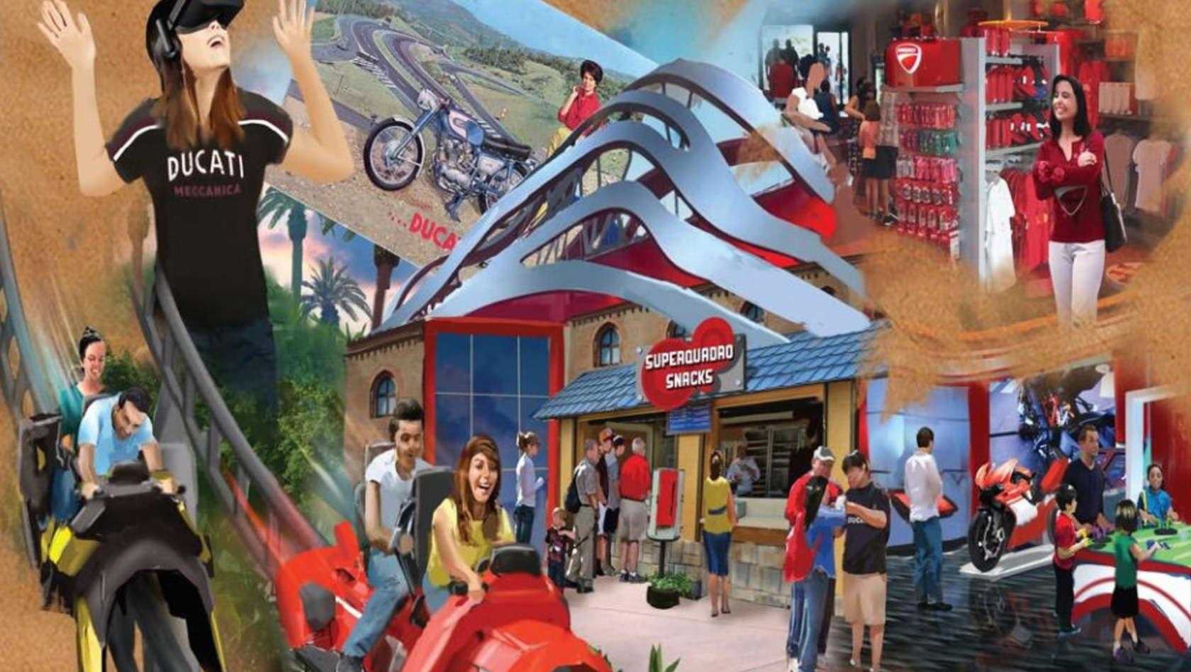 """A Mirabilandia arriva """"Ducati World"""""""